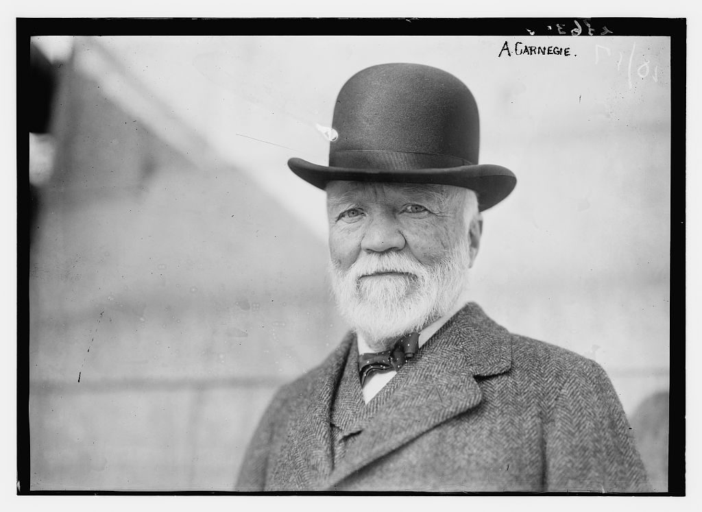 in his essay on wealth andrew carnegie argued that Words of wisdom from american philanthropist andrew carnegie focusing on carnegie's most famous essay, the gospel of wealth, this book of his writings.