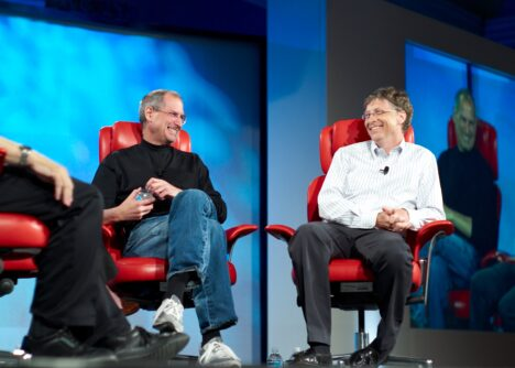 steve jobs bill gates education and philanthropy